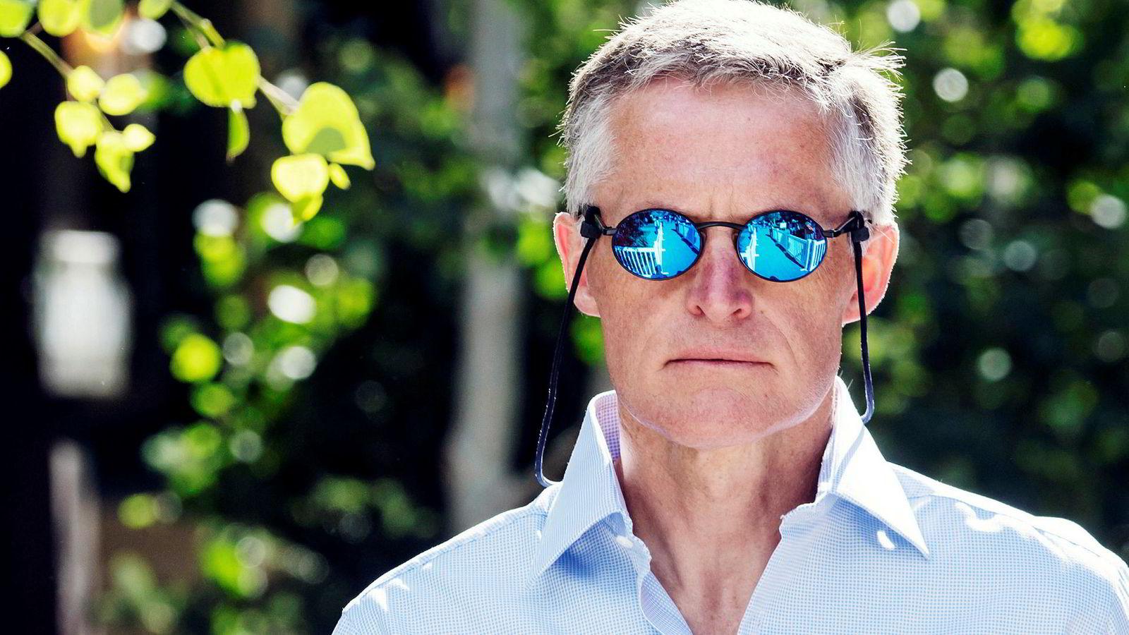 – Han er antagelig den største. Helt klart en av, om ikke den beste, sa hedgefondlegenden Julian Robertson om den norske hedgefondforvalteren Ole Andreas Halvorsen (bildet) i fjor.