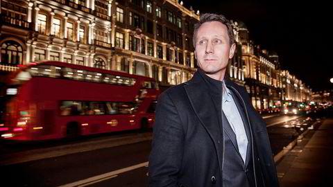 Vidar Kalvøy (42) er porteføljeforvalter i det internasjonale hedgefondet Horizon Asset i London. I løpet av 15 år har fondet bygget opp en forvaltningskapital på drøyt 34 milliarder kroner. Foto: Aleksander Nordahl