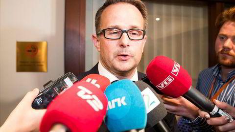 Riksmekler Mats Wilhelm Ruland sier meklingen i statsoppgjøret fortsatt pågår.