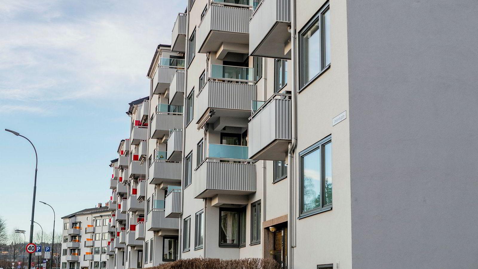 Leiligheter på Sagene i Oslo.