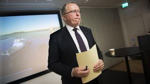 Statoil-sjef Eldar Sætre må velge mellom å opprettholde utbytteutbetalingene eller sikre seg kontroll over Lundin, mener meglerhus. Foto: Per Ståle Bugjerde