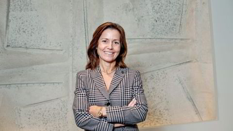 Cecilie Amdahl er én av seks kvinnelige partnere i advokatfirmaet Schjødt. 57 er menn.                    Foto: Silje Eide