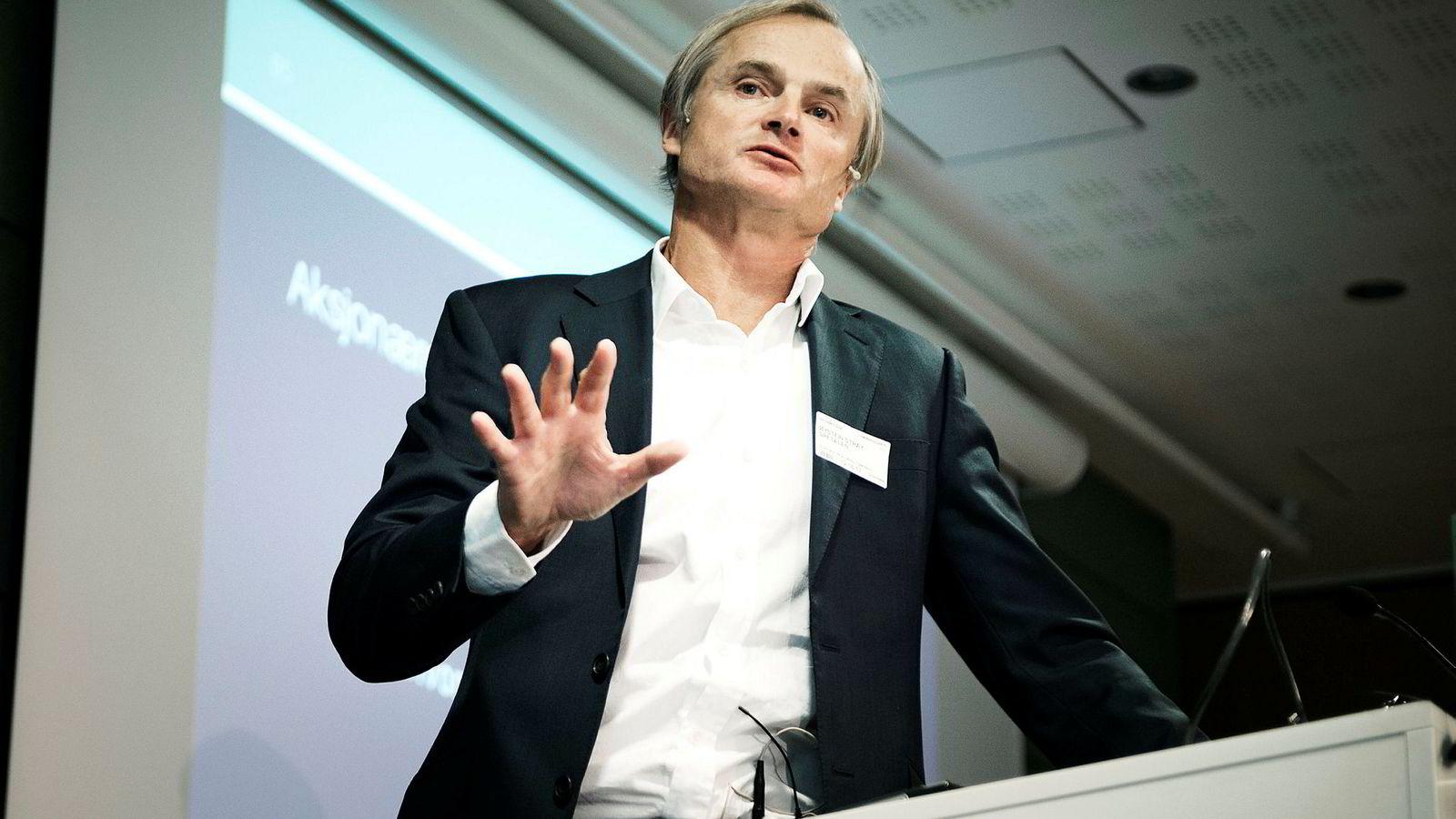 Øystein Stray Spetalen rådet politikerne til å «sky risiko» i forvaltningen av Oljefondet i kjølvannet av finanskrisen. Det hadde gitt et langt mindre Oljefond.