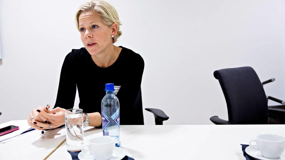 Susanna Campbell trekker seg fra toppvervet i svenske Ratos. Foto: