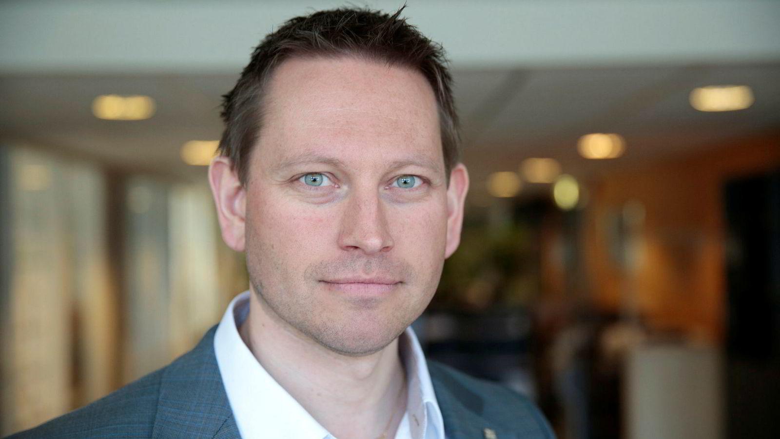 Vegard Einan, tidligere nestleder i YS-forbundet Parat, rykker opp.