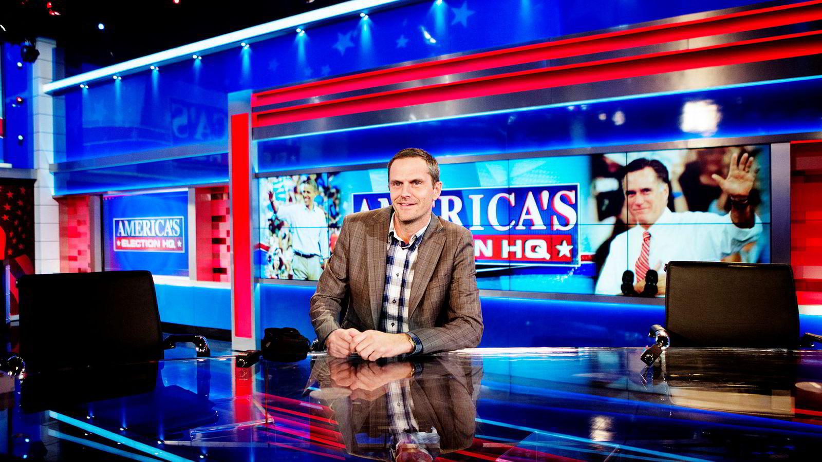Administrasjonssjef i nyhets- og sportsredaksjonen i TV 2, Roy Tore Jensen, besøkte Fox News før presidentvalget i 2012.
