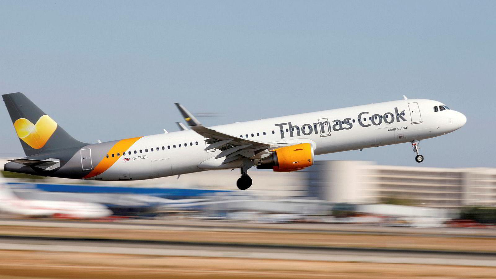 Thomas Cook står på randen av konkurs.
