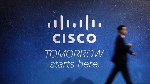 Cisco Systems kutter syv prosent av arbeidsstyrken. Foto: