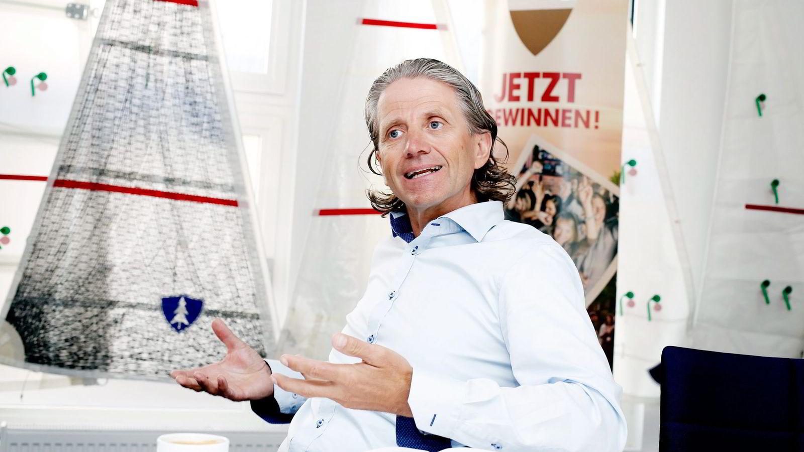 Leder Nils Røang i Red Gruppen.