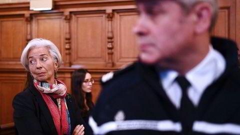 da14c513 IMF-sjefen dømt for uaktsomhet
