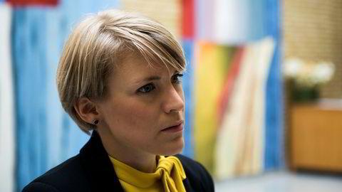 SVs finanspolitiske talsperson, Kari Elisabeth Kaski, er bekymret over anbefalingen om at Oljefondet ikke bør ut av investeringer i olje- og gass.