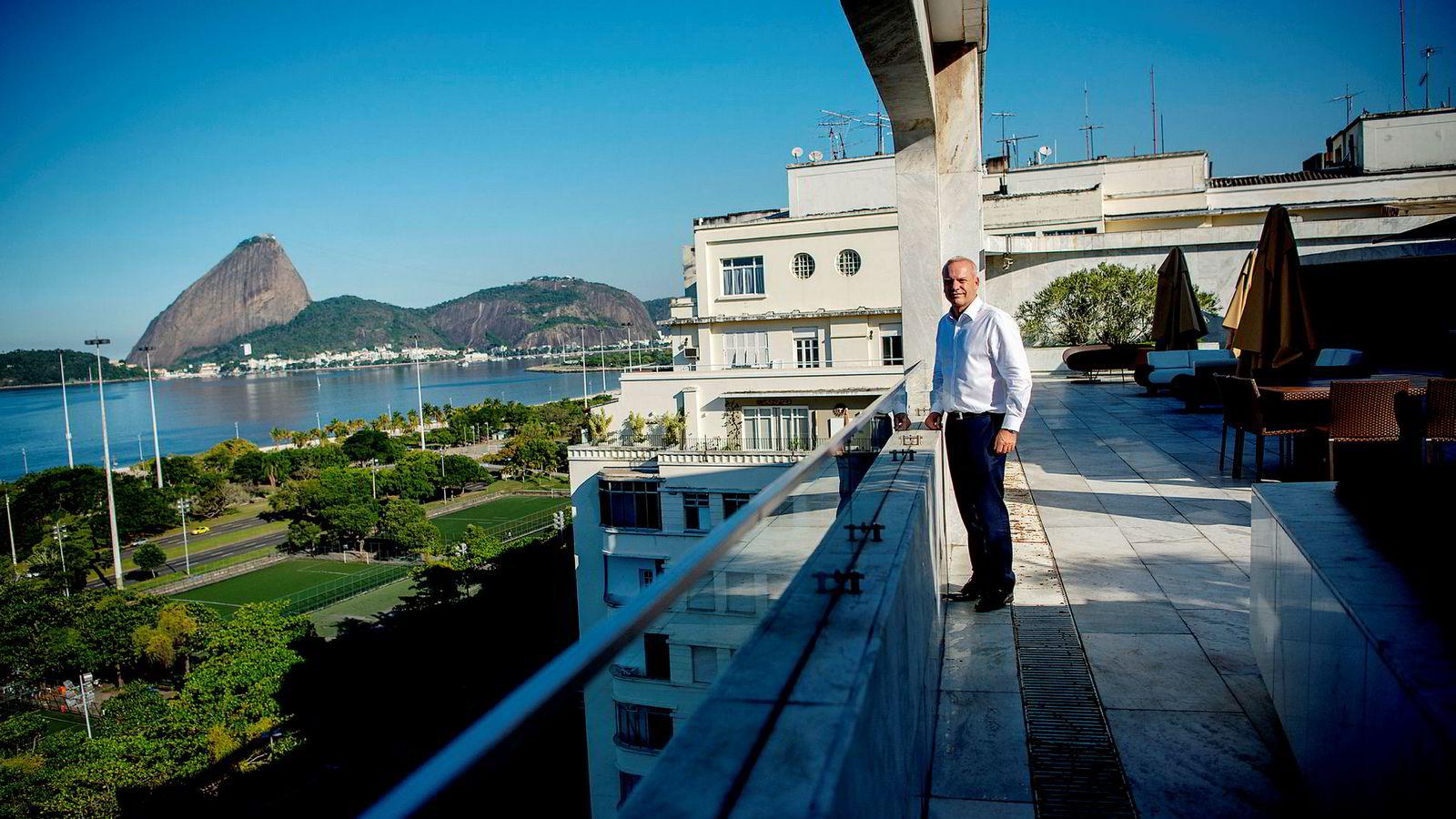 – Leteprospektene som nå legges ut er noen av de beste som finnes i verden, sier Anders Opedal, Equinors landsjef for Brasil.
