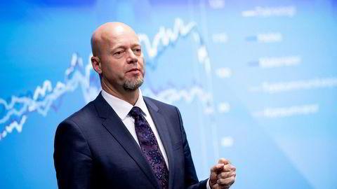 Yngve Slyngstad, sjefen for Oljefondet, har opplevd urolige tider i aksjemarkedet i 2018.