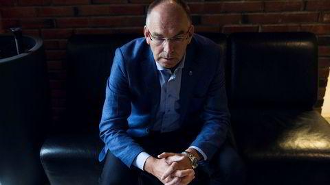 Må stramme inn. – Budsjettarbeidet for 2019 har fått et ekstra alvor over seg, konstaterer ordfører i Grimstad, Kjetil Glimsdal.