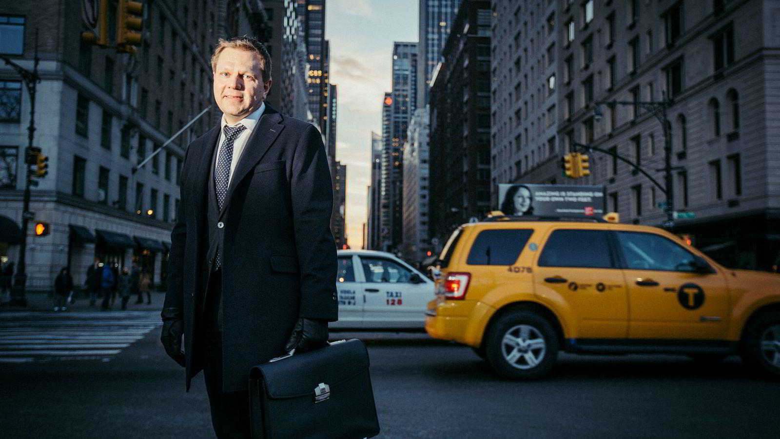 Sjefstrateg Leif-Rune Rein i Nordea Wealth Management mener renteoppgangen i USA har mesteparten av skylden for børsfallet i USA. Selv om renteoppgang burde bety børsoppgang.