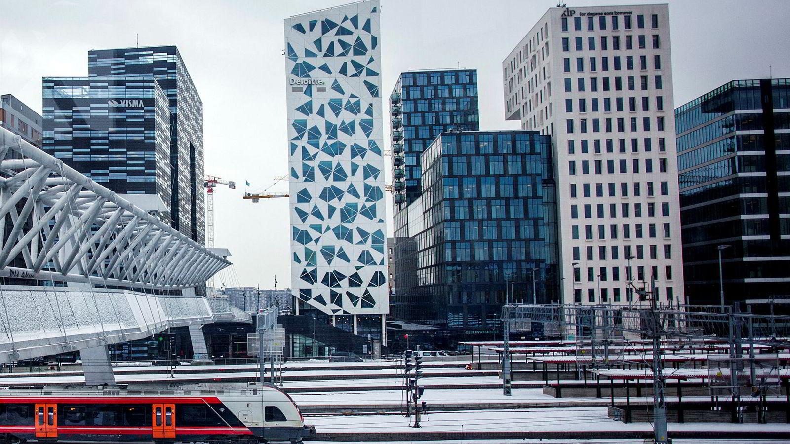 Arkivfoto: Oslo sentralstasjon. Det er Gjøvikbanen, Kongsvingerbanen og stasjoner i Trøndelag som kan rammes av streik.