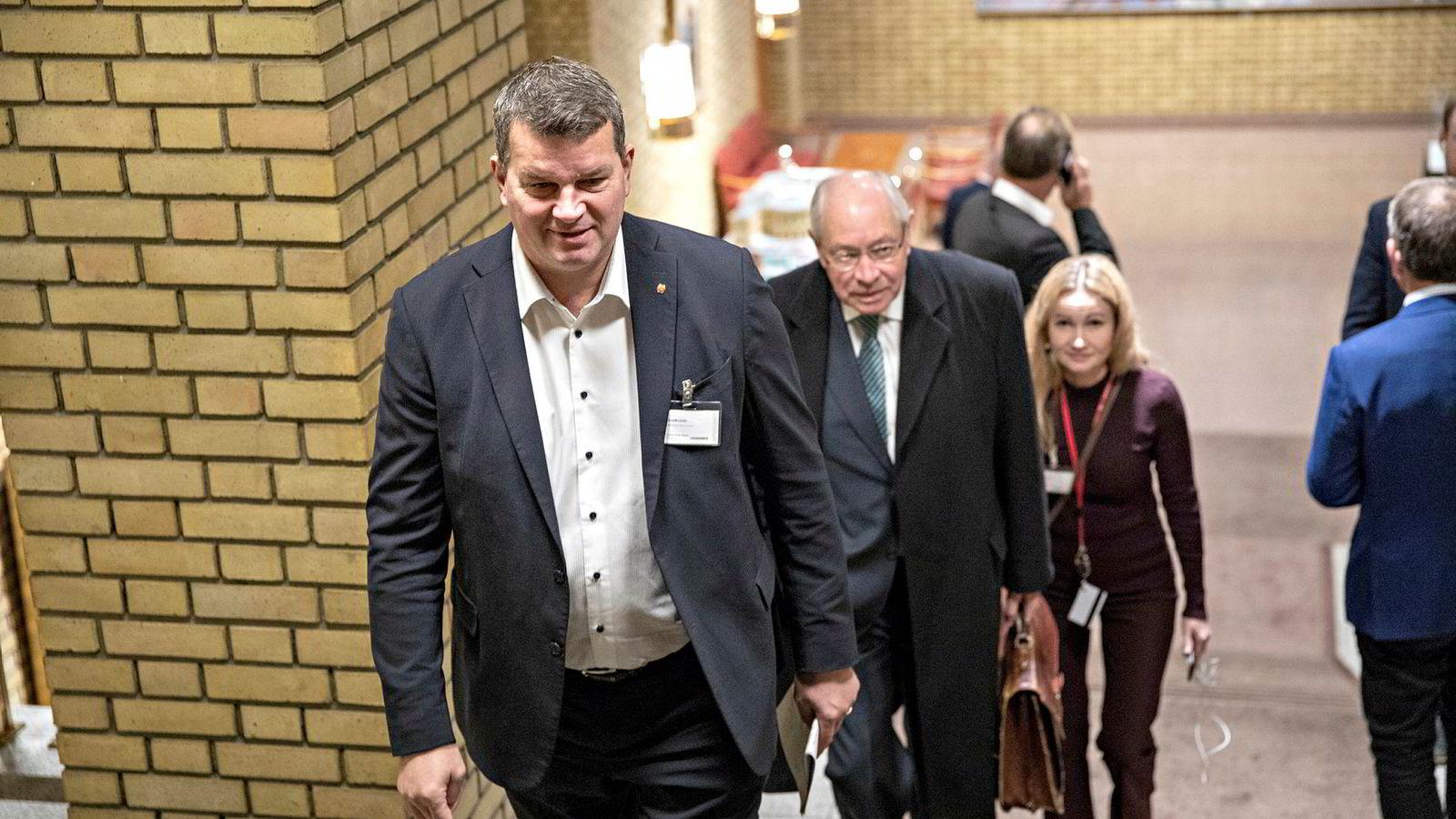 LO-sjef Hans Christian Gabrielsen krevere pensjon fra første krone.