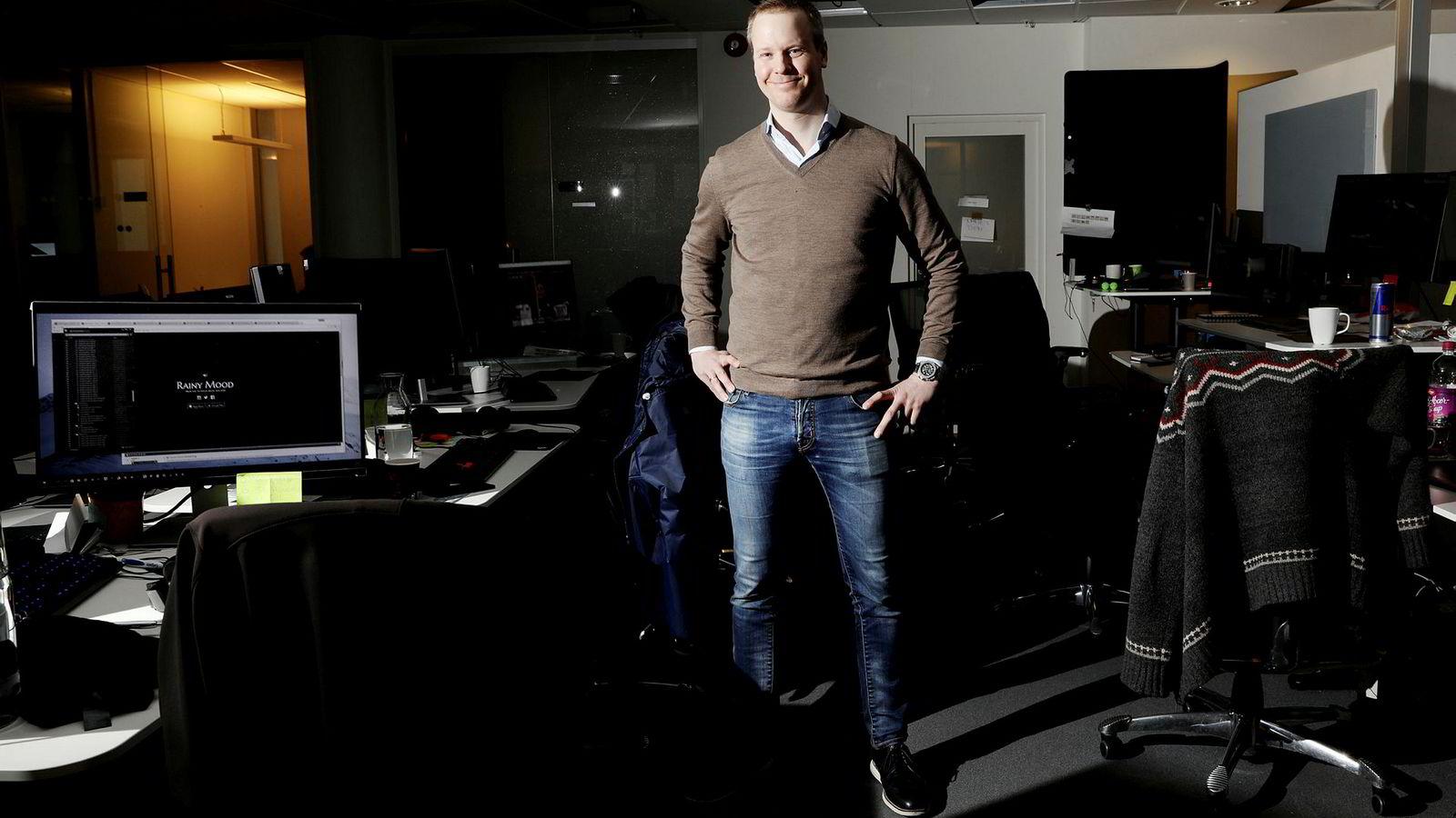 – Det at man har underskudd er naturlig i fasen vi er i som selskap, sier medgründer Bård Anders Kasin i The Future Group.