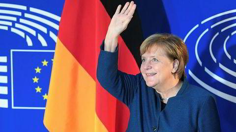 Tysklands forbundskansler vil ha et enda tettere Europa.