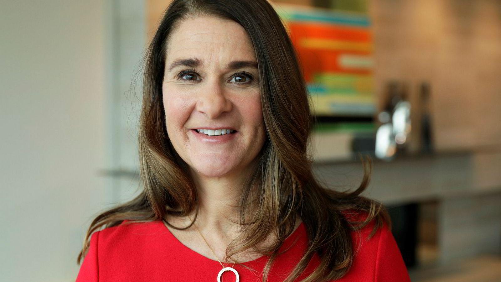 Melinda Gates snakker varmt for kvinners tilgang til prevensjon.