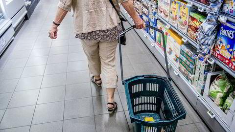 Det har vært kraftig vekst i norske konsumpriser det siste året. Foto: Gorm K. Gaare.