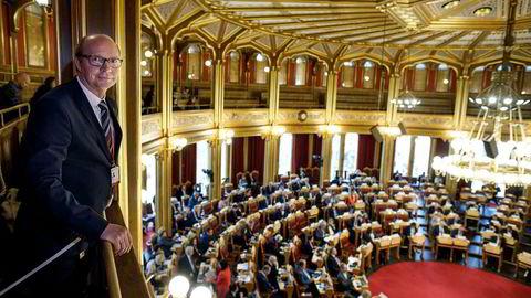 Nordisk råd har denne uken hatt møter på Stortinget. Ketil Kjenseth (V) håper begge forsamlinger vil tørre å tenke større om energipolitikken.