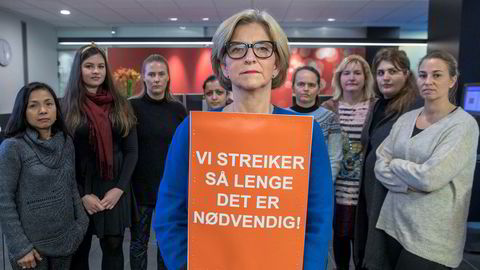 Leder Eli Gunhild By og resten av Norsk Sykepleierforbunds forhandlinger med NHO har foreløpig ikke ført frem.