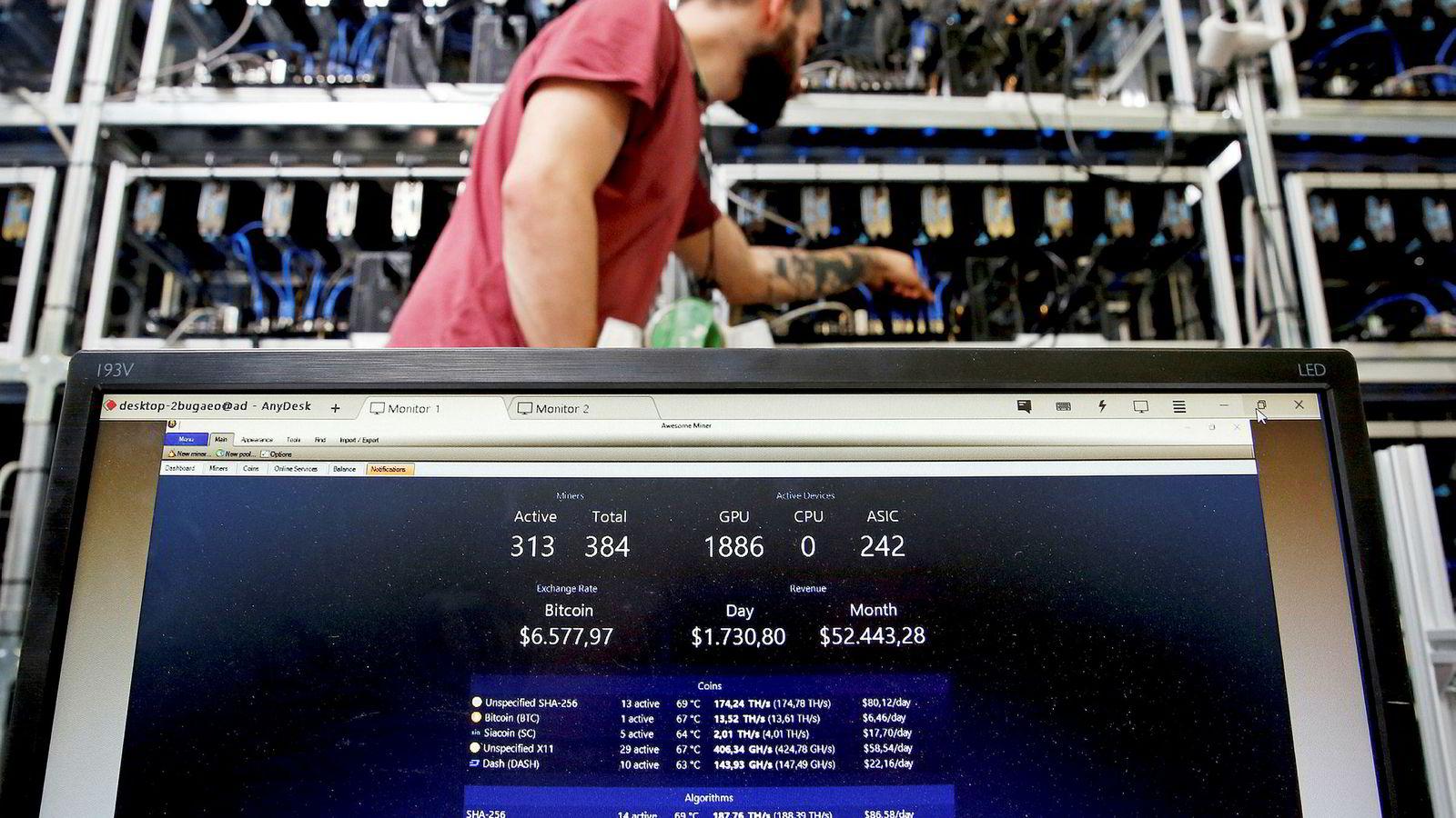 En vesentlig årsak til at kryptovalutaer ikke egner seg som elektroniske kontanter, er at de varierer så voldsomt i verdi, skriver DN-kommentator Terje Erikstad.