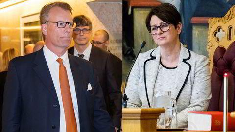 Stortingspresident Tone Wilhelmsen Trøen er uenig i Johan H. Andresens beskrivelse av nasjonalforsamlingens pengebruk.