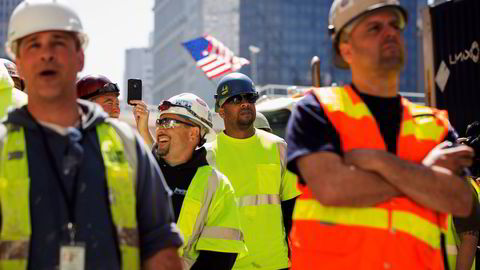 Antall sysselsatte i den private sektoren i USA steg med 179.000 personer i juli. Foto: REUTERS/Lucas Jackson