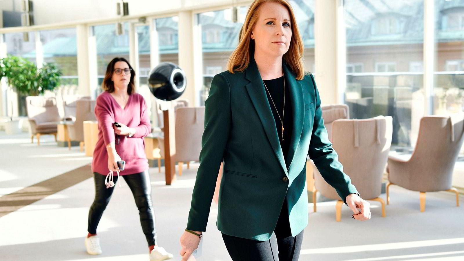 71 dager etter valget i Sverige ga Center-leder Annie Lööf torsdag opp å danne regjering i Sverige.