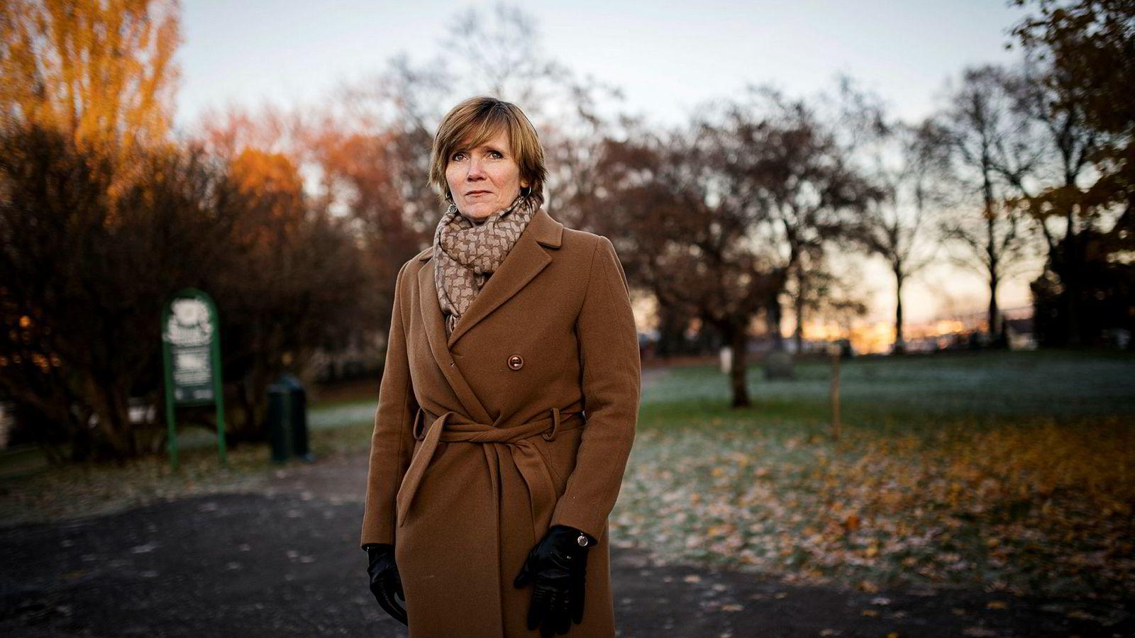 Avgått SSB-sjef Christine Meyer.