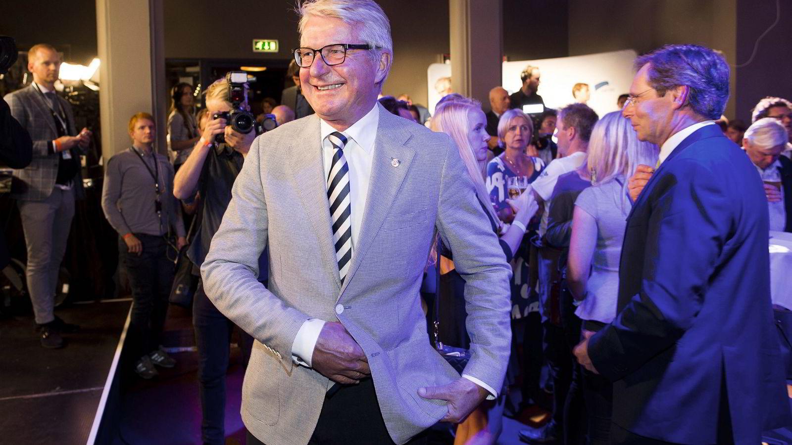 Tidligere ordfører i Oslo Fabian Stang (H)