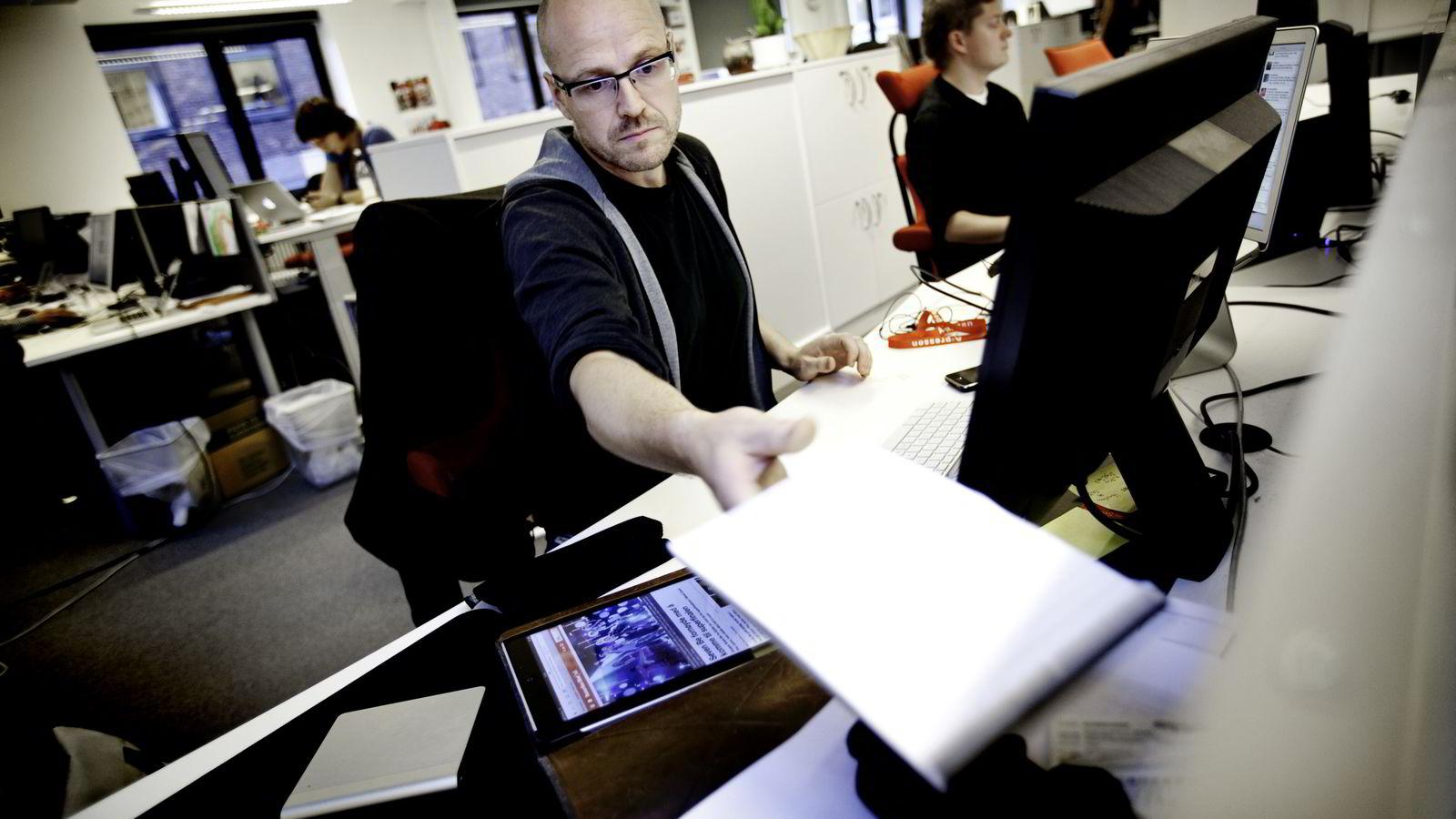 Direktør for utvikling Pål Nedregotten i Amedia sier de også har ambisjoner om å kunne lage stadig mer komplette digitale identiter av sine brukere.