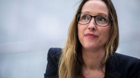 Sjeføkonom Kjersti Haugland i DNB Markets tror ikke verden ender i full handelskrig, men er absolutt ikke beroliget.