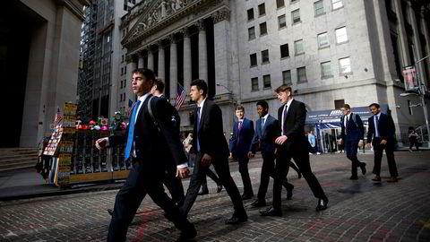 Aksjemarkedet i USA, først og fremst på børsen i New York har aldri hatt en høyre prising enn nå.