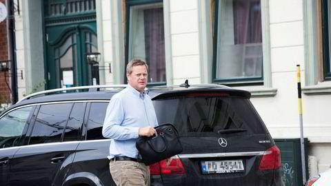 Einar Aas og hans advokat Marius Moursund Gisvold i Wikborg Rein har forhandlet med Nasdaq Clearing i snart to måneder.