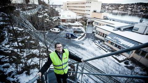 – Vi har vanskelige markeder i shipping. Det har vært en brutal nedgang i bygging av skip, sier Jotun-sjef Morten Fon.