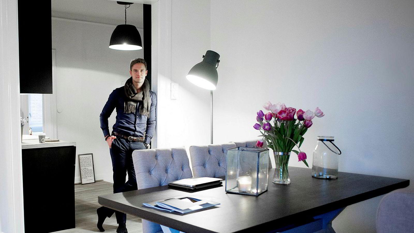 I 2015 møtte DN Espen Flaa Nilsen (30) som kjøpte en leilighet for 3,1 millioner, og solgte den for 4,1 millioner. Nå har han derimot måtte legge alle prosjekter på hyllen.