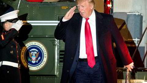Man kan vel si at problemet som gjenstår, er Donald Trump selv. Men det er jo stort nok; så usikkerheten om USAs politikk vil bestå i det videre, men i mindre grad enn i forrige uke, skriver forfatteren.
