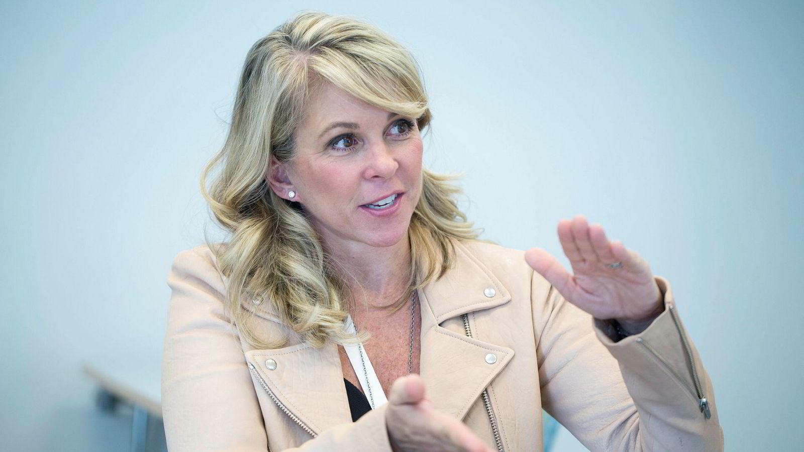 Sjefstrateg Liz Ann Sonders i Charles Schwab & Co besøkte Norges Handelshøyskole i Bergen denne uken.