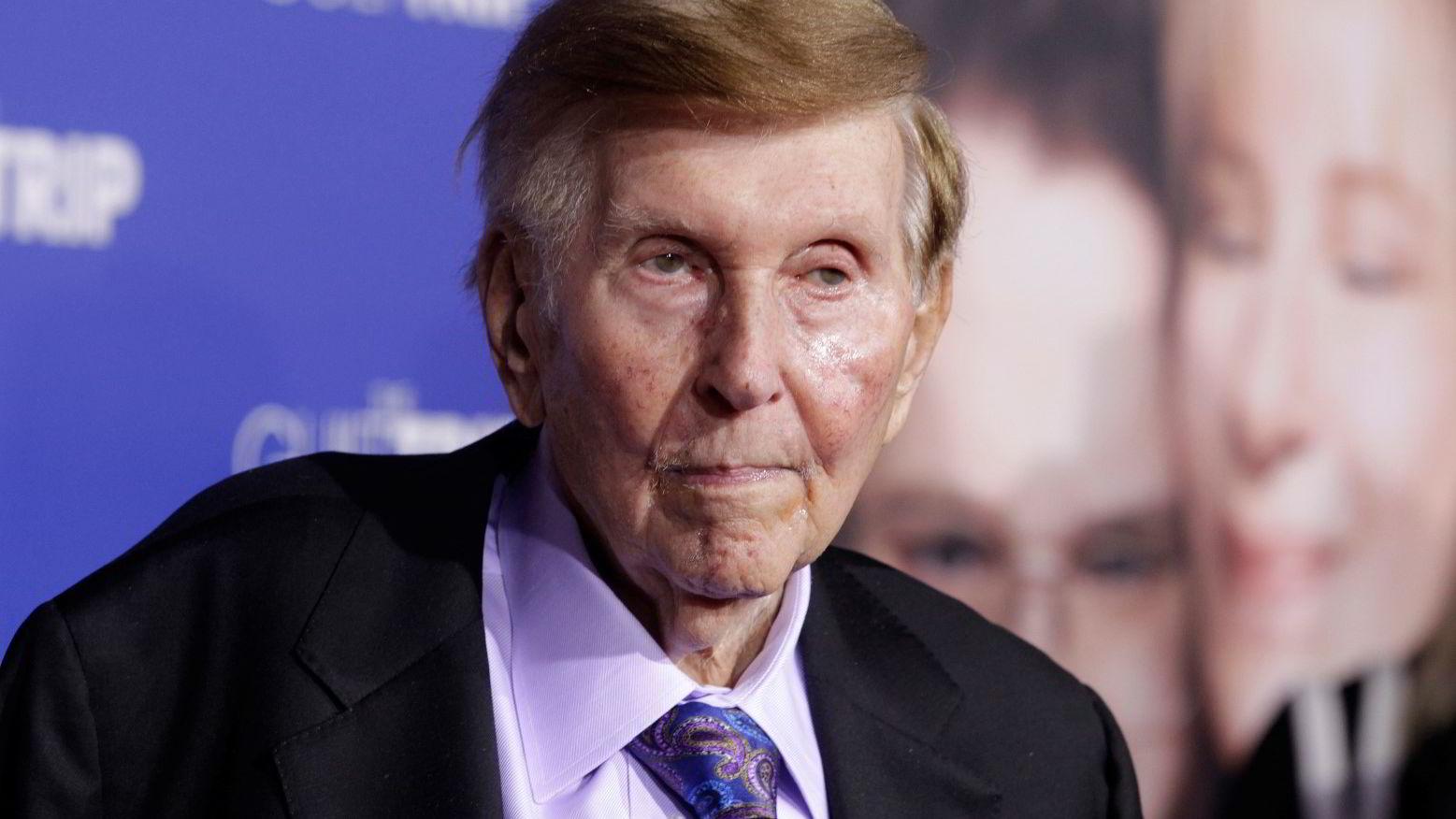 Entreprenøren Sumner Redstone (93), som er styreleder og eier i Viacom Inc. som eier Paramount, vil ikke selge filmselskapet. Foto: Fred Prouser/Reuters/NTB scanpix