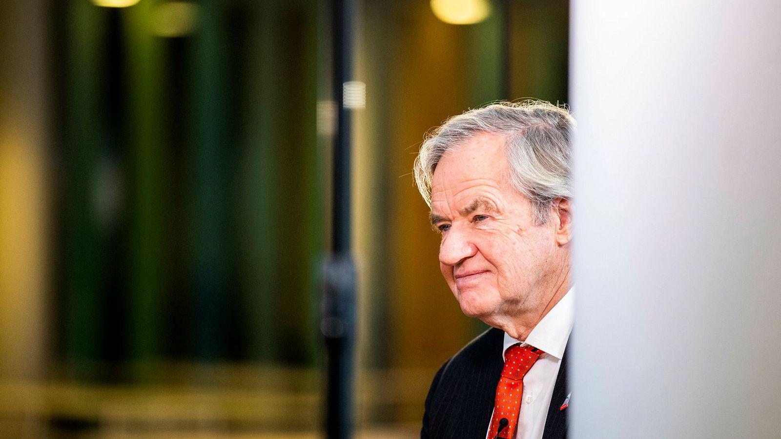 Konsernsjef Bjørn Kjos i Norwegian
