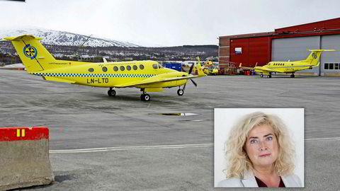 Helse Nords styreleder Marianne Telle er også leder for rekrutteringsselskapet Bedriftskompetanse. Telle signerte i fjor en avtale med flyselskapet Babcock, som skal frakte pasienter i nord, om rekruttering av personell.