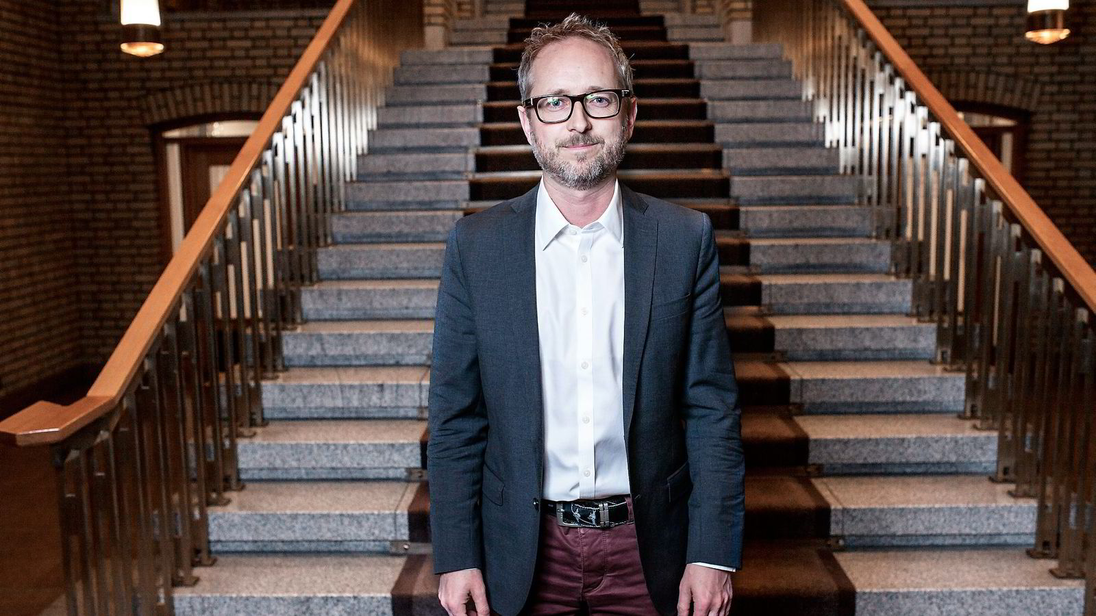 Bård Vegar Solhjell (SV) liker den brede folkeopplysningsprofilen til NRK. Foto: Klaudia Lech
