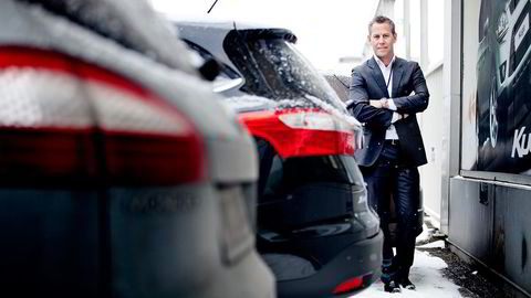 STABILISERER SEG. Haakon J. Marthinsen i Autolease Norge tror Tesla-markedet kommer til å roe seg. Foto: