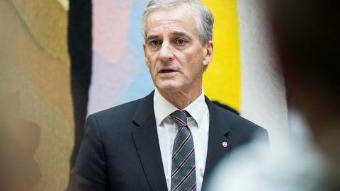 - Vi kommer ikke til å gi oss i kampen for en rettferdig pensjon for alle, sa Ap-leder Jonas Gahr Støre i sin 1. mai-tale.