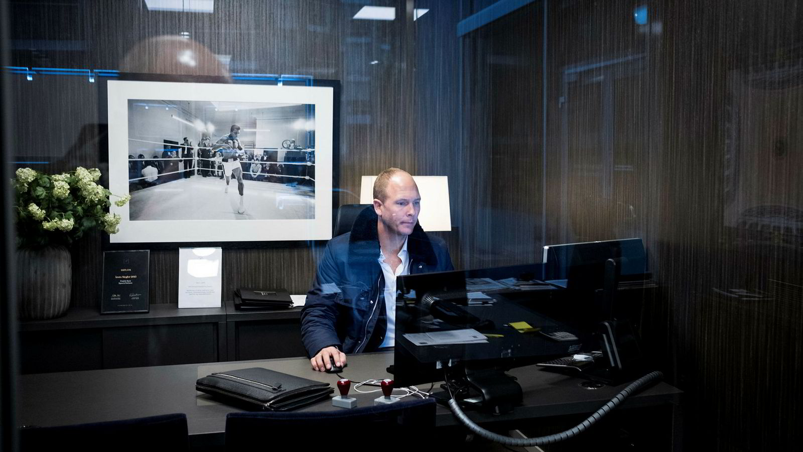 Eiendomsmegler Fredrik Dyve i Privatmegleren topper skattelistene for eiendomsmeglerne.