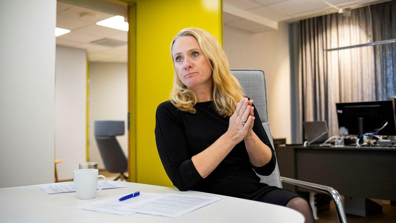 Arbeidsminister Anniken Hauglie (H).