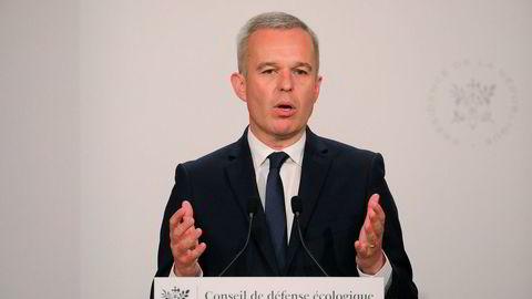 François de Rugy gir seg etter mindre enn et år i stillingen